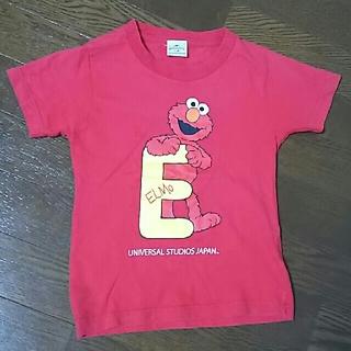セサミストリート(SESAME STREET)のエルモ Tシャツ USJ 赤 110㎝(Tシャツ/カットソー)