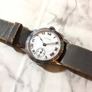 ウォルサム(Waltham)の【WALTHAM】ラウンド型 スモセコ ホットエナメル 手巻き WH-1248(腕時計(アナログ))