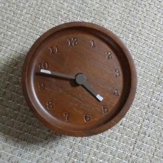フランフラン(Francfranc)の専用です。ウォールナット置時計お値下げ(置時計)