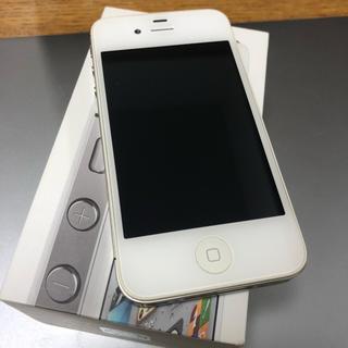 アイフォーン(iPhone)のiPhone 4S 32GB ホワイト(その他)