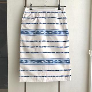 ノーブル(Noble)のNoble コットンタイトスカート(ひざ丈スカート)