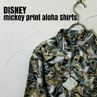 ディズニー(Disney)のDISNEY/ディズニー  アロハシャツ(シャツ)