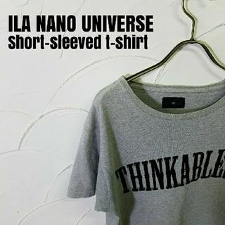アイラ(ila)のILA NANO UNIVERSE/アイラ ナノユニバース 半袖Tシャツ(Tシャツ/カットソー(半袖/袖なし))