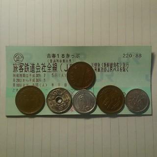 青春18きっぷ1回分(鉄道乗車券)