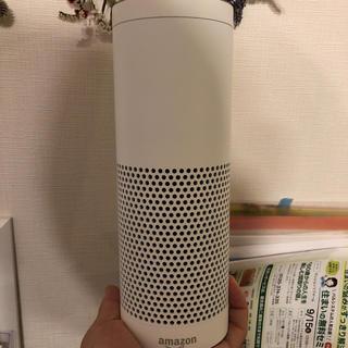 エコー(ECHO)のAmazon Echo Plus、スマートホームハブ内蔵、ホワイト(スピーカー)