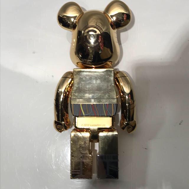 MEDICOM TOY(メディコムトイ)のベアブリック C-3PO 1000体限定 400% エンタメ/ホビーのフィギュア(その他)の商品写真