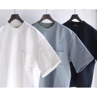 ヤエカ(YAECA)のAURALEE】STAND-UP TEE スタンドアップTシャツ (Tシャツ/カットソー(半袖/袖なし))