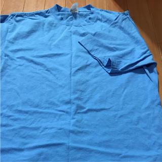 アンビル(Anvil)の再値下げ!anvil  Tシャツ  サイズL  (水色)(Tシャツ/カットソー(半袖/袖なし))