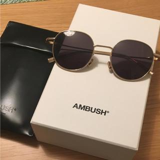 アンブッシュ(AMBUSH)のambush サングラス ジードラゴン   着用(サングラス/メガネ)
