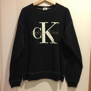 カルバンクライン(Calvin Klein)のCalvin'Klein ロゴスウェット カルバンクライン(スウェット)