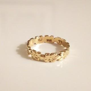 ロノ(LONO)の格安‼️ 美品‼️ 本物❗️14K ハワイアンジュエリー ピンキーリング(リング(指輪))