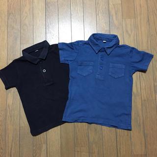 ムジルシリョウヒン(MUJI (無印良品))の▷お値下げ▷used▷無印良品 ポロシャツ 2枚 90(Tシャツ/カットソー)