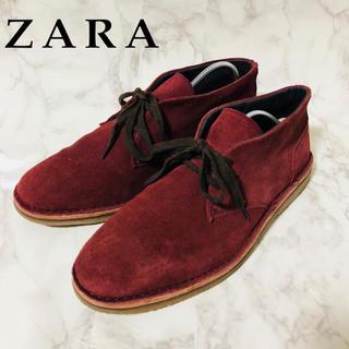 ザラ(ZARA)のZARA スウェード デザートブーツ(ブーツ)