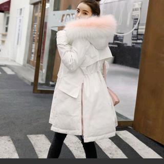 冬物 ダウンコート  綺麗な古着(ロングコート)