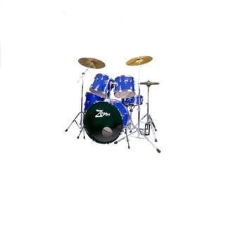 ZENN ( ゼン )  ZDS3000II BLUE  ドラムセット(セット)