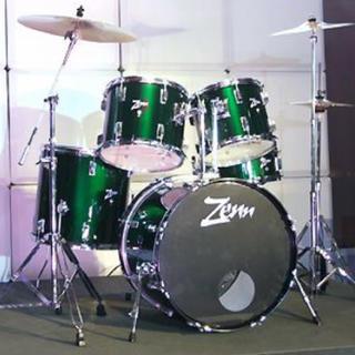 ZENN ( ゼン )  ZDS3000II GREEN ドラムセット(セット)