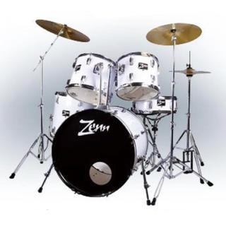 ZENN ( ゼン )  ZDS3000II WHITE ドラムセット(セット)