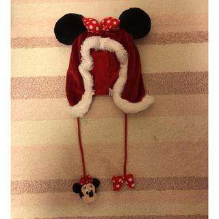 ディズニー(Disney)のミニーマウス かぶりもの(キャラクターグッズ)