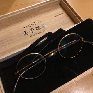金子眼鏡 井戸多美男 鼈甲特注品