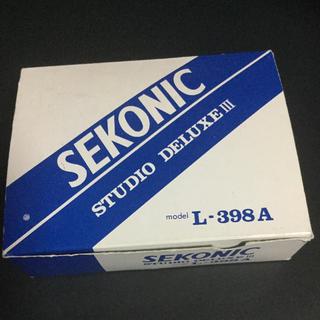 SEKONIC STUDIO DELUXEⅢ  L-398A(露出計)