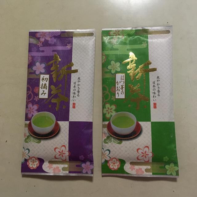 とうめ屋 静岡県産 新茶 100g×2袋 煎茶 緑茶 定価2,376円(税込み) 食品/飲料/酒の飲料(茶)の商品写真