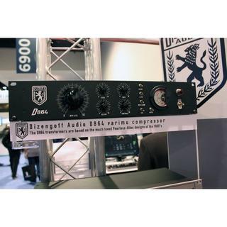 真空管コンプレッサー Dizengoff Audio D864-Black(エフェクター)