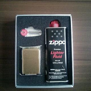 ジッポー(ZIPPO)の値下げしました!zippo ギフトセット 新品未使用!(タバコグッズ)