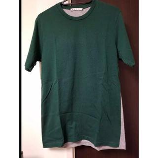マルニ(Marni)のマルニ グリーンカットソー 44サイズ marni マルジェラ Tシャツ(Tシャツ/カットソー(半袖/袖なし))