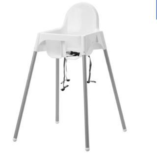 IKEA - 【ほぼ新品】IKEA ベビーチェア クッション付き