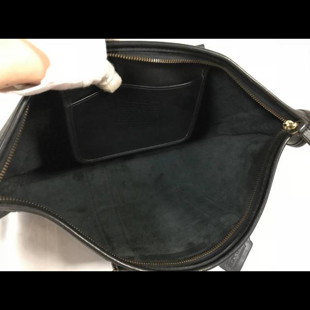 7256c6c4c063 COACH - 美品本物オールドコーチCOACH本革レザービジネスバッグ ...