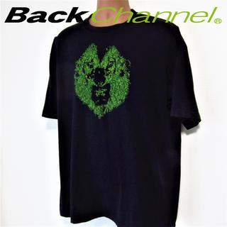 バックチャンネル(Back Channel)の★ビッグサイズ★バックチャンネル◆ゴーストライオンTEE◆ブラック (Tシャツ/カットソー(半袖/袖なし))