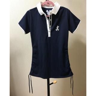 シマムラ(しまむら)の【新品未使用】しまむら ディズニー ポロシャツ ネイビー(ポロシャツ)