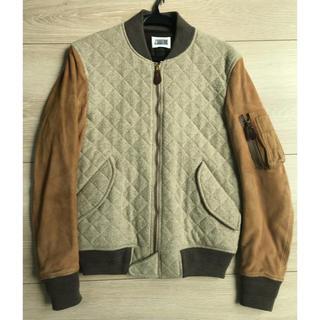 ジェイサバティーノ(J.Sabatino)の新品未使用 J.SABATINO Varsity Jacket  0サイズ(スタジャン)