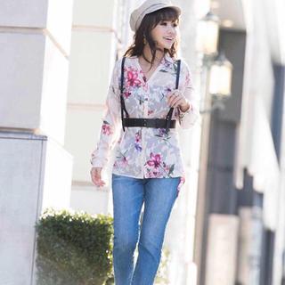 エイミーイストワール(eimy istoire)のeimyistoire spring Flowerシャツ(シャツ/ブラウス(長袖/七分))
