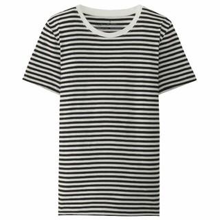 ムジルシリョウヒン(MUJI (無印良品))のオーガニックコットンクルーネック半袖Tシャツ(Tシャツ(半袖/袖なし))
