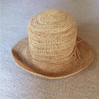 ムジルシリョウヒン(MUJI (無印良品))のハット(麦わら帽子/ストローハット)