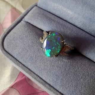 豪華✨ ブラックオパールリング(リング(指輪))