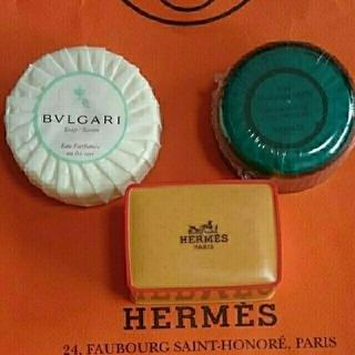 ブルガリ(BVLGARI)のHERMES  2種類 & BVLGARI 石鹸(ボディソープ / 石鹸)
