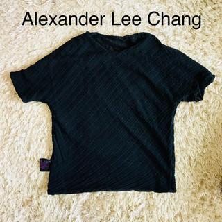 アレキサンダーリーチャン(AlexanderLeeChang)のAlexanderLeeChangアレキサンダーリーチャン黒リバーシブルTシャツ(Tシャツ/カットソー(半袖/袖なし))
