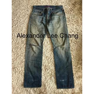 アレキサンダーリーチャン(AlexanderLeeChang)のAlexanderLeeChangアレキサンダーリーチャンダメージデニムMサイズ(デニム/ジーンズ)