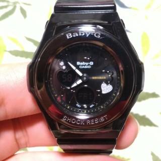 ベビージー(Baby-G)のはる様専用 CASIO Baby-G bga-102 ジーショック ブラック(腕時計)