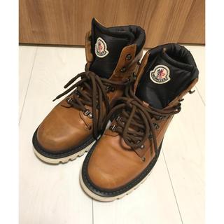 MONCLER - Moncler ブーツ 26.5センチ ブラウン
