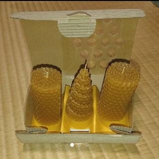 ヤマダヨウホウジョウ(山田養蜂場)の山田養蜂場  ビーハッピーキャンドル(キャンドル)