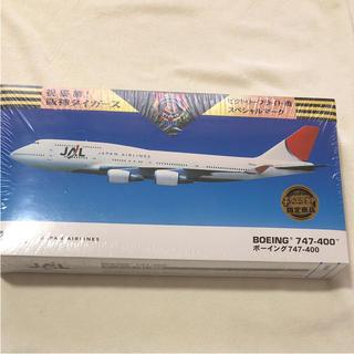 ジャル(ニホンコウクウ)(JAL(日本航空))の新品 ジョーシン限定 阪神タイガース 優勝 JAL ボーイング747 模型(模型/プラモデル)