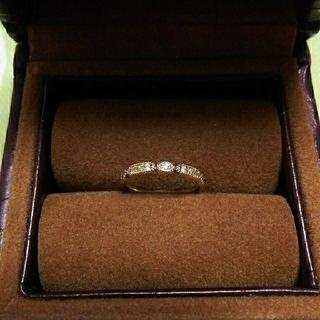 アガット(agete)の期間限定値下げ❗️アガット agete  ダイヤモンド リング   K10(リング(指輪))