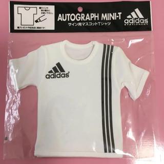 アディダス(adidas)のアディダス♡サイン用マスコットTシャツ3ストライプ♡寄せ書きサッカースポーツ卒業(その他)
