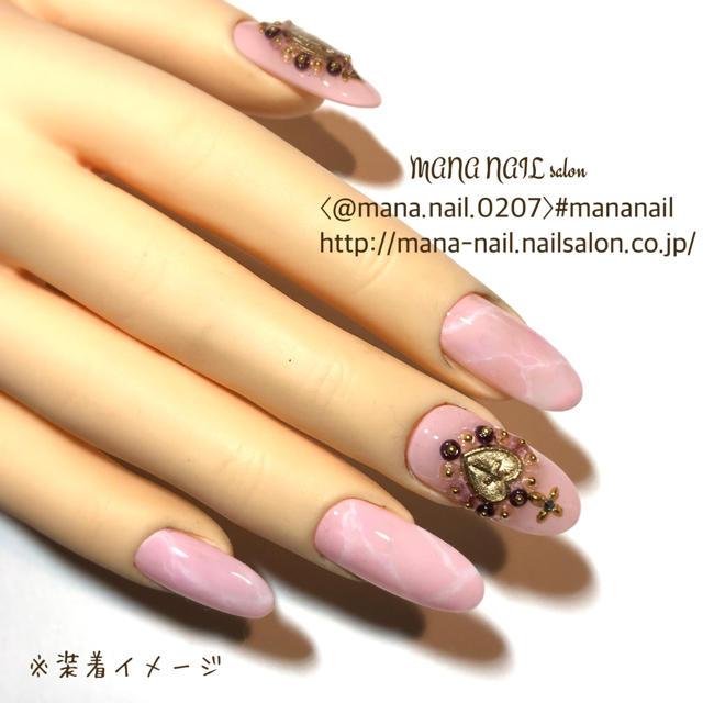 (52)新作【サイズ変更無料】 コスメ/美容のネイル(つけ爪/ネイルチップ)の商品写真