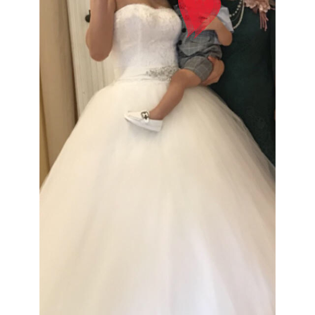 57726ebcc4e7a YNS Wedding チュールウェディングドレス Aライン レディースのフォーマル ドレス(ウェディングドレス)