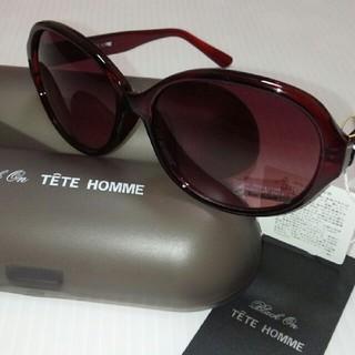 テットオム(TETE HOMME)のBlack on TETE HOMME ラウンド型 サングラス   男女兼用 (サングラス/メガネ)