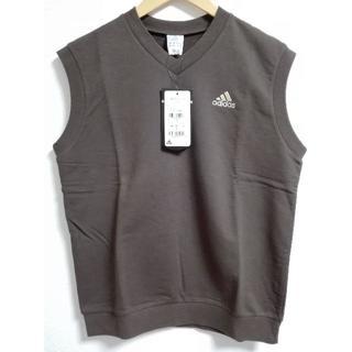 アディダス(adidas)のadidas Vネック ノースリーブ シャツ(Tシャツ/カットソー(半袖/袖なし))